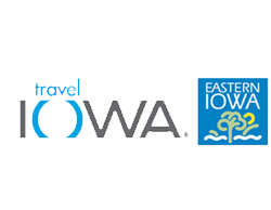 travel iowa and eastern iowa graphic logo links