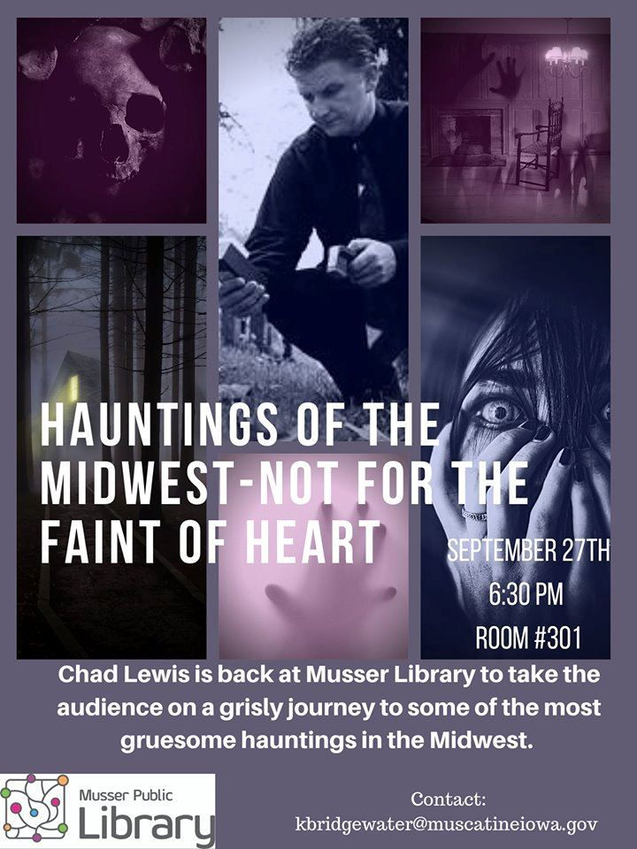 Hauntings of the midwest