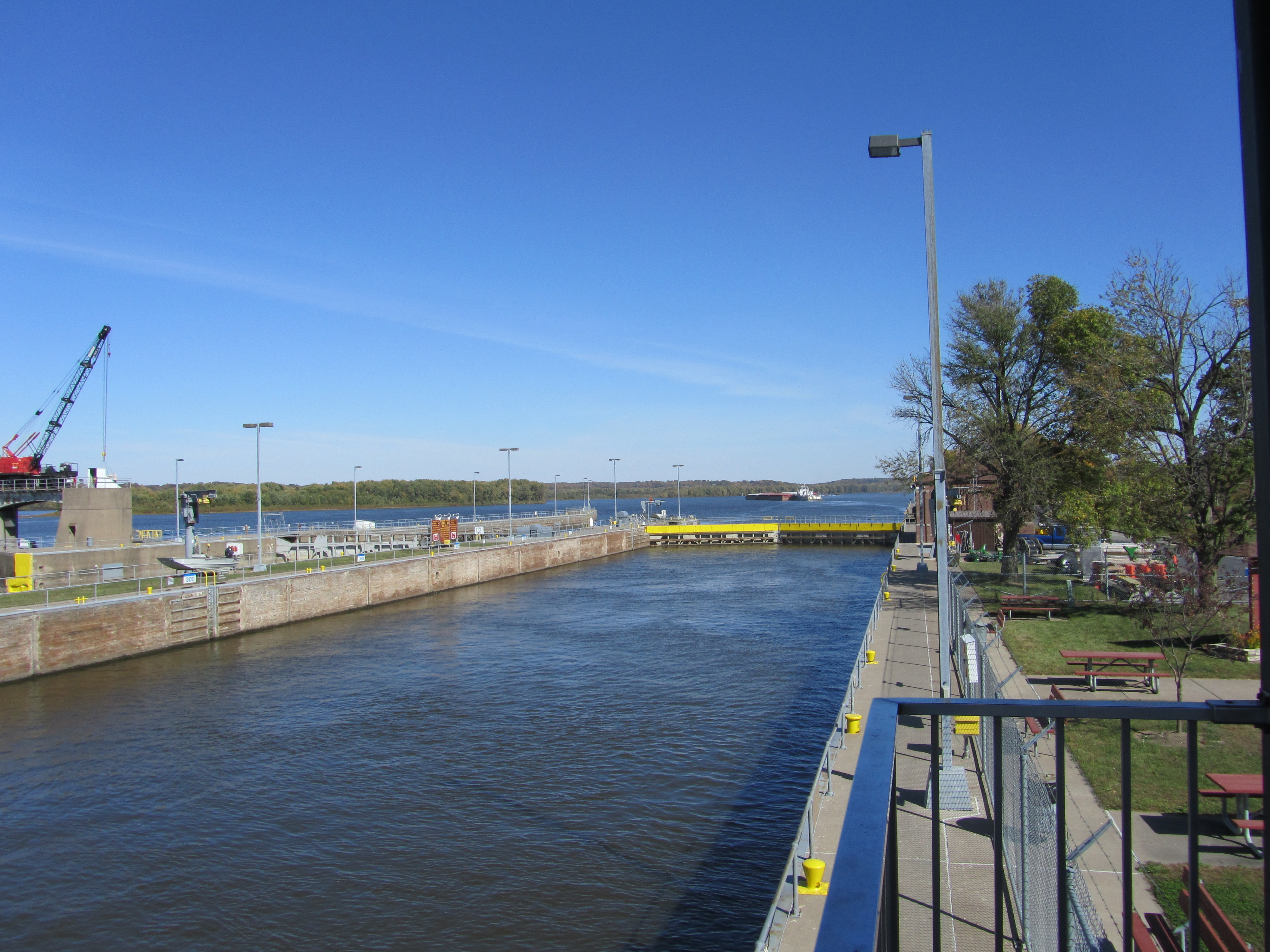 Lock and Dam #16 Area
